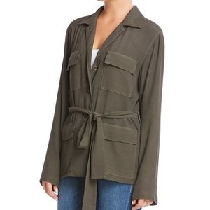 NWT Bailey 44 Law of the Jungle Olive Jacket XS